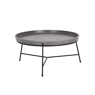 Mixt Remy Concrete and Metal Coffee Table