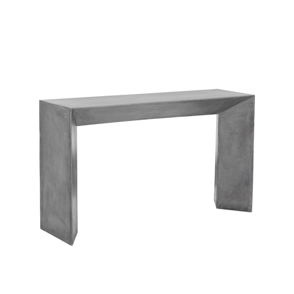 Nomad Grey Concrete Console Table