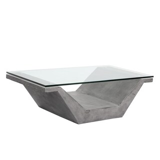 Jasper Grey Concrete Coffee Table