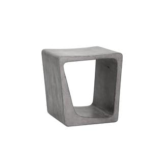 Darwin Grey Concrete End Table