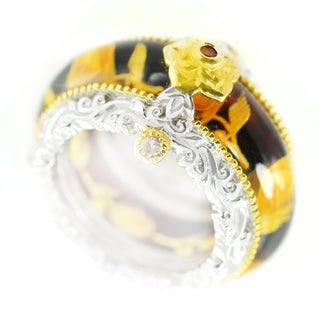 Amber Rings Engagement Wedding And More Overstock