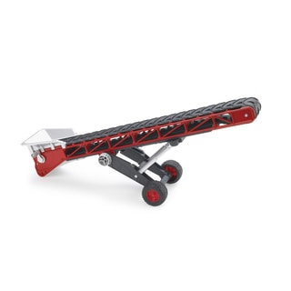 Bruder Red and Black Metal Conveyor Belt Attachment for Die-cast Bruder Towing Toys