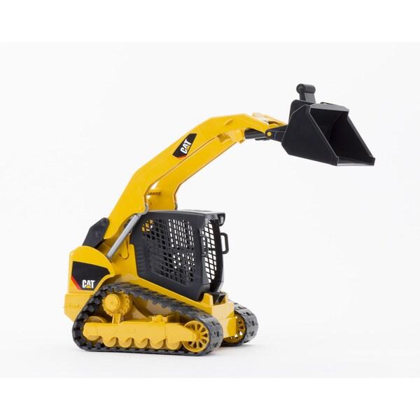 Bruder Toys 'Caterpillar' Black and Yellow Metal Delta Loader