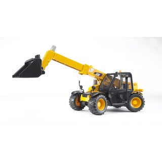 Bruder Toys Black Yellow Metal Caterpillar Telehandler