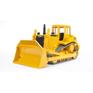 Bruder Toys Caterpillar Black/Yellow Metal Bulldozer