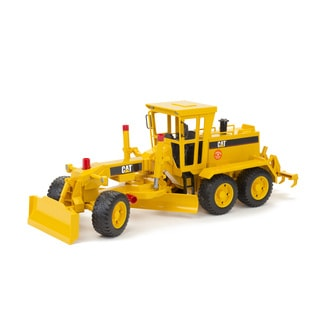Bruder Toys Caterpillar Black/Yellow Metal Grader