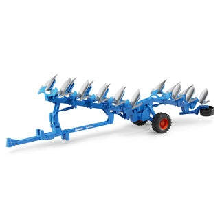 Bruder Toys Lemken Blue Metal Semi-mounted Reversible Plough