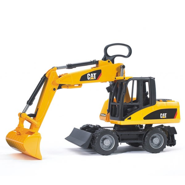 Bruder Toys Caterpillar Wheeled Excavator