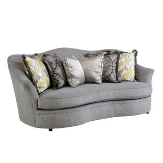 A.R.T. Furniture Amanda Sterling Sofa with Pillows