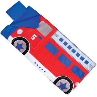 Kid's Fire Truck Sleeping Bag