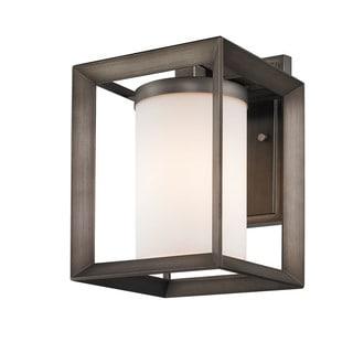 Bronze Modern Outdoor Wall Light (Pack of 2)