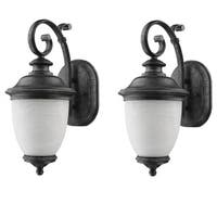 Laurel Designs Belmont Dark Slate Outdoor Wall Light (Pack of 2)