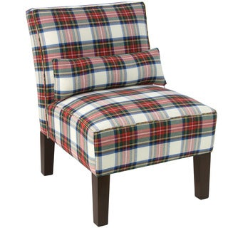 Skyline Furniture Multi Colored Stewart Dress Armless Slipper Chair