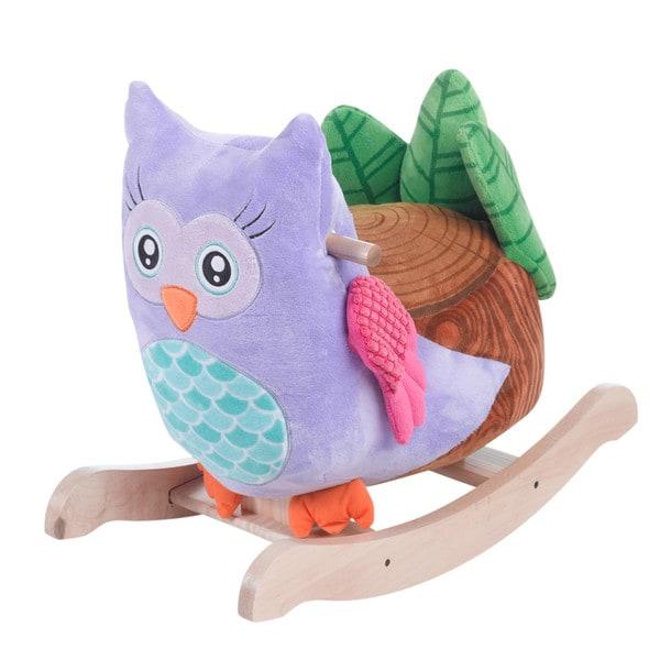 Rockabye Owlita Violet Rocker