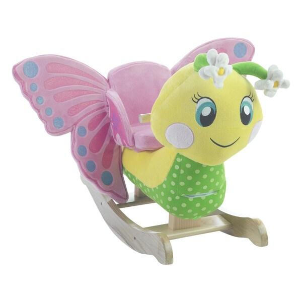 Rockabye Flutter Butterfly Rocker