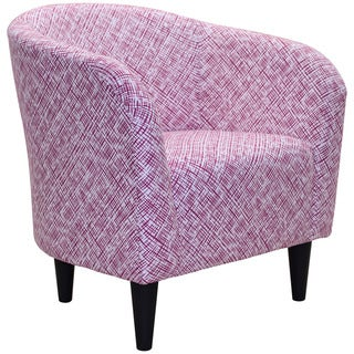 Lilian Printed Contemporary Club Chair. Pink Living Room Chairs   Shop The Best Deals For Apr 2017