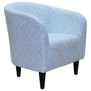 Lilian Printed Contemporary Club Chair
