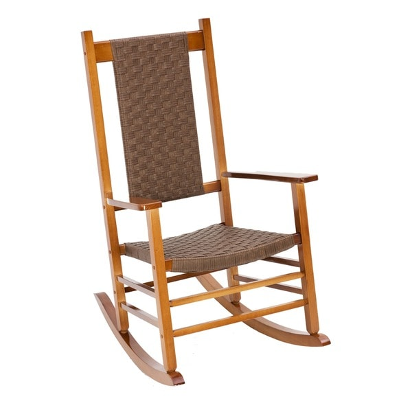 wicker rocking chair. Jack Post Knollwood Wicker Rocking Chair