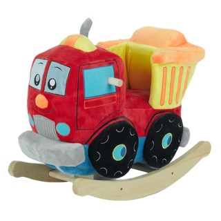 Rockabye Plush Dumpee The Truck Rocker