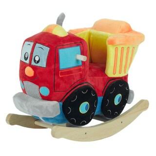 Rockabye Plush Dumpee The Truck Rocker