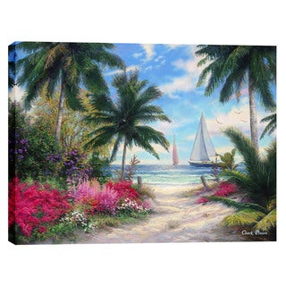 Cortesi Home Chuck Pinson 'Sea Breeze Trail' Giclee-print Canvas Wall Art
