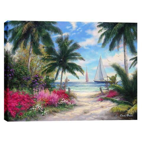 Cortesi Home Chuck Pinson 'Sea Breeze Trail' Giclee-print Canvas Wall Art
