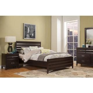 Alpine Legacy Black Wood Panel Bed