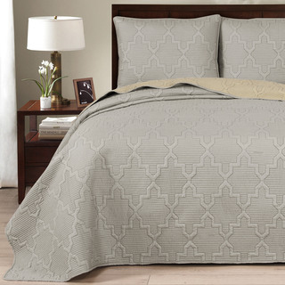 Brielle Casablanca Reversible Quilt Set
