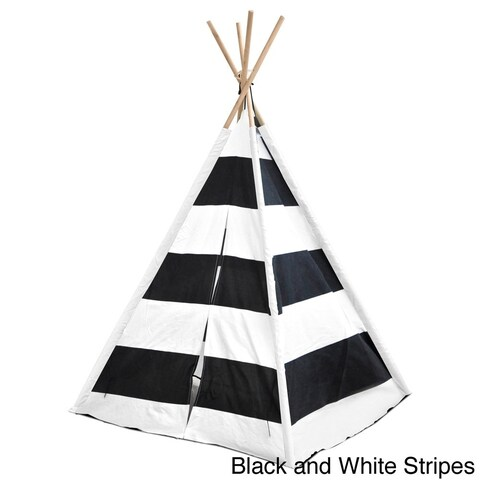 Kids' Tee Pee Canvas Tent