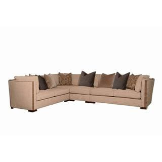 art furniture madison natural armless chair sectional piece - Nailhead Sofa
