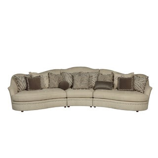 A.R.T. Furniture Amanda Ivory Right Arm Facing Loveseat Sectional Piece