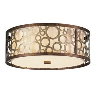 Livex Lighting Steel Resin Avalon Ceiling Mount Light