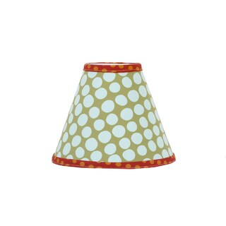 Cotton Tale Lagoon Blue and Green Lamp Shade