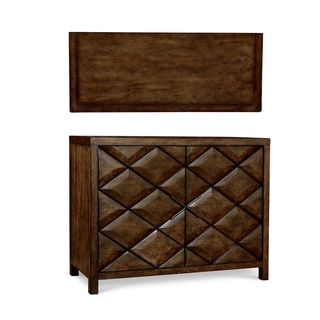 A.R.T. Furniture Echo Park Brown Wood and Veneer Hall Chest