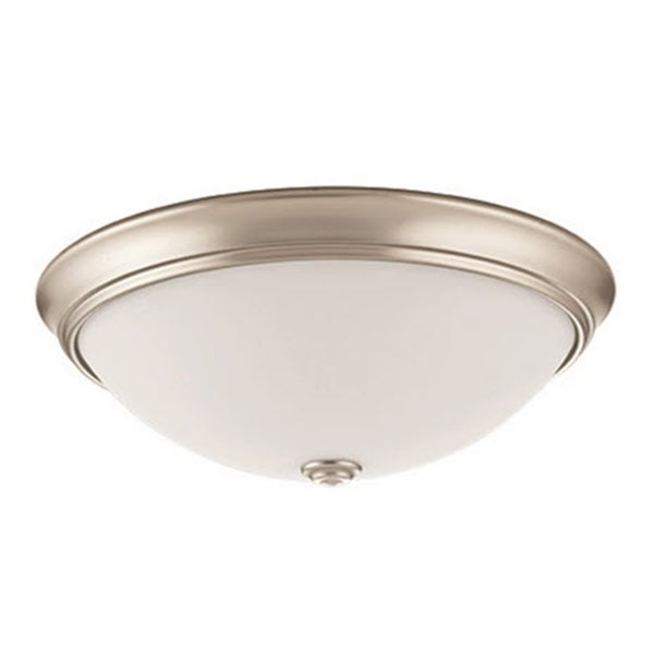 Shop Lithonia Lighting Essentials White Steel/Glass 14