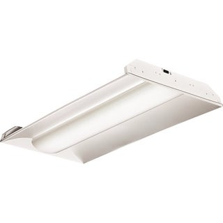 Lithonia Lighting 2VTL4 48L ADP EZ1 LP835 White Acrylic Diffuser 2-foot x 4-foot 4,000-lumen 3,500K LED Architectural Troffer