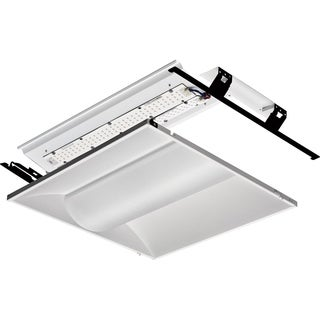 Lithonia Lighting 2VTL2RT 20L ADP EZ1 LP835 White Metal 2' x 2' 3,500k LED Architectural Troffer Relight Kit