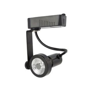 Lithonia Lighting Black Steel Rear Loading LED Gimbal Track Head Fixture