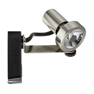 Lithonia Lighting Brushed-nickel Steel LED Rear Loading Gimbal Track Head