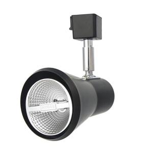 Lithonia Lighting LTH SHDE PAR20 DBL M24 Black PAR20-Compatible LED Front-loading Shade Track Head