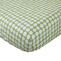 Cotton Tale Lagoon Fitted Crib Sheet