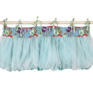 Cotton Tale Lagoon Multicolored Cotton Curtain Valance