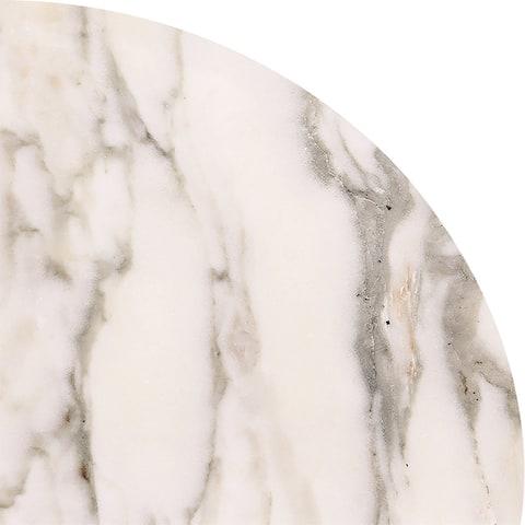 Calacatta Verde Polished White Marble 9 x 9 x 3/4-inch Corner Shelves