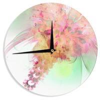 "Kess InHouse Alison Coxon ""Lily"" Wall Clock 12"""