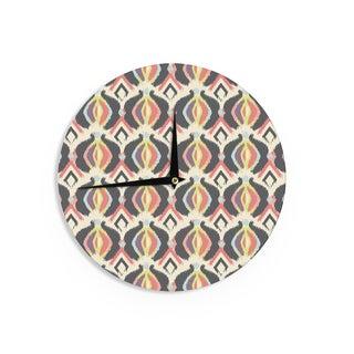 """Kess InHouse Amanda Lane """"Bohemian iKat"""" Wall Clock 12"""""""