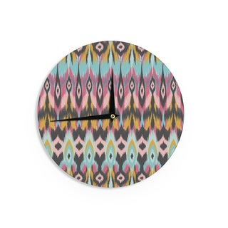 "Kess InHouse Amanda Lane ""Bohotribal"" Wall Clock 12"""