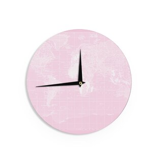 KESS InHouseCatherine Holcombe 'Her World' Wall Clock