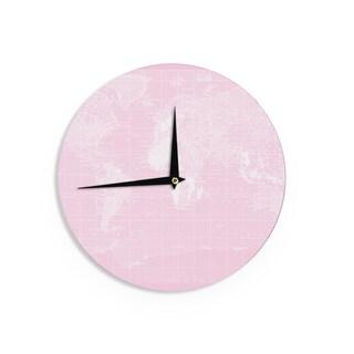 KESS InHouseCatherine Holcombe 'Her World' Wall Clock