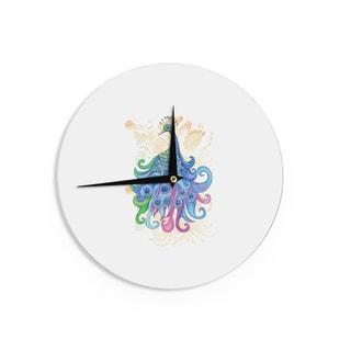KESS InHouseCatherine Holcombe 'Peace' Wall Clock