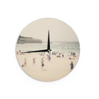 KESS InHouseCatherine McDonald 'Bondi Beach' Coastal People Wall Clock